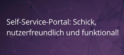 Einführung in das Self-Service-Portal von SMAX