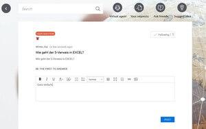 Nutzer helfen Nutzern