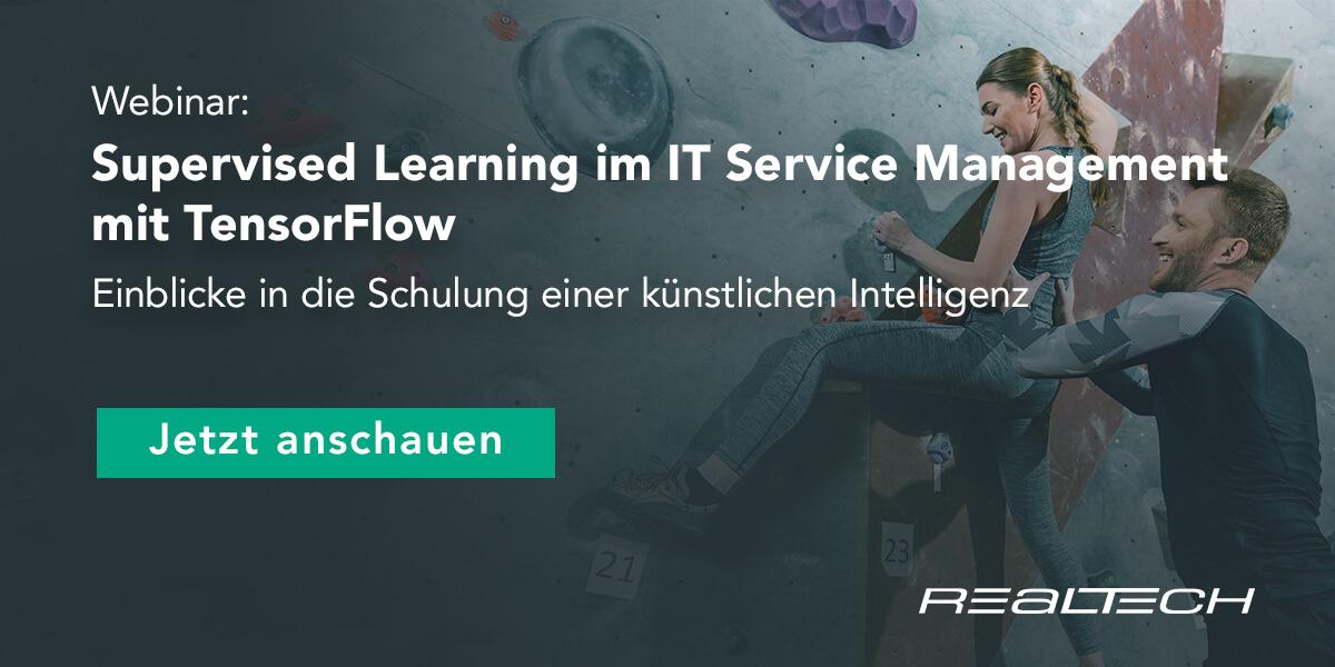 Supervised Learning im ITSM mit TensorFlow 3