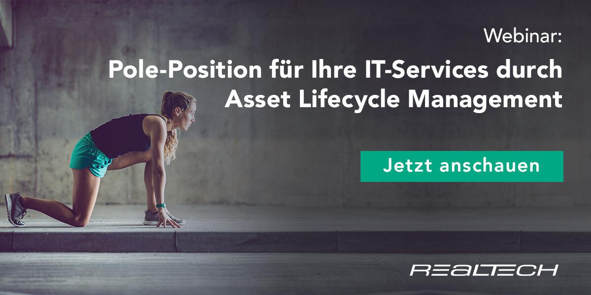 Pole-Position für Ihre IT-Services durch profitables Asset Lifecycle Management 2