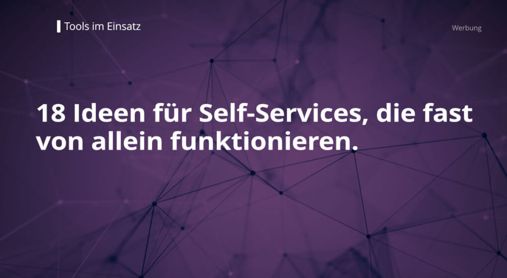 Self-Services mit DCON Servity