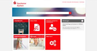 Spaarkasse Aachen - Referenzprojekt TOPdesk